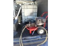 HONDA GX 240 PRESSURE WASHER AND A WHIRLAWAY FLAT SURFACE CLEANER