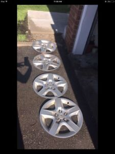 "Chevrolet 17"" inch wheel covers - $40"