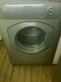 Tumble dryer, 6kg graphite grey Hotpoint