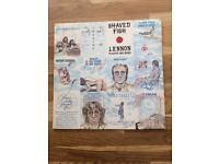 John Lennon shaved fish vinyl