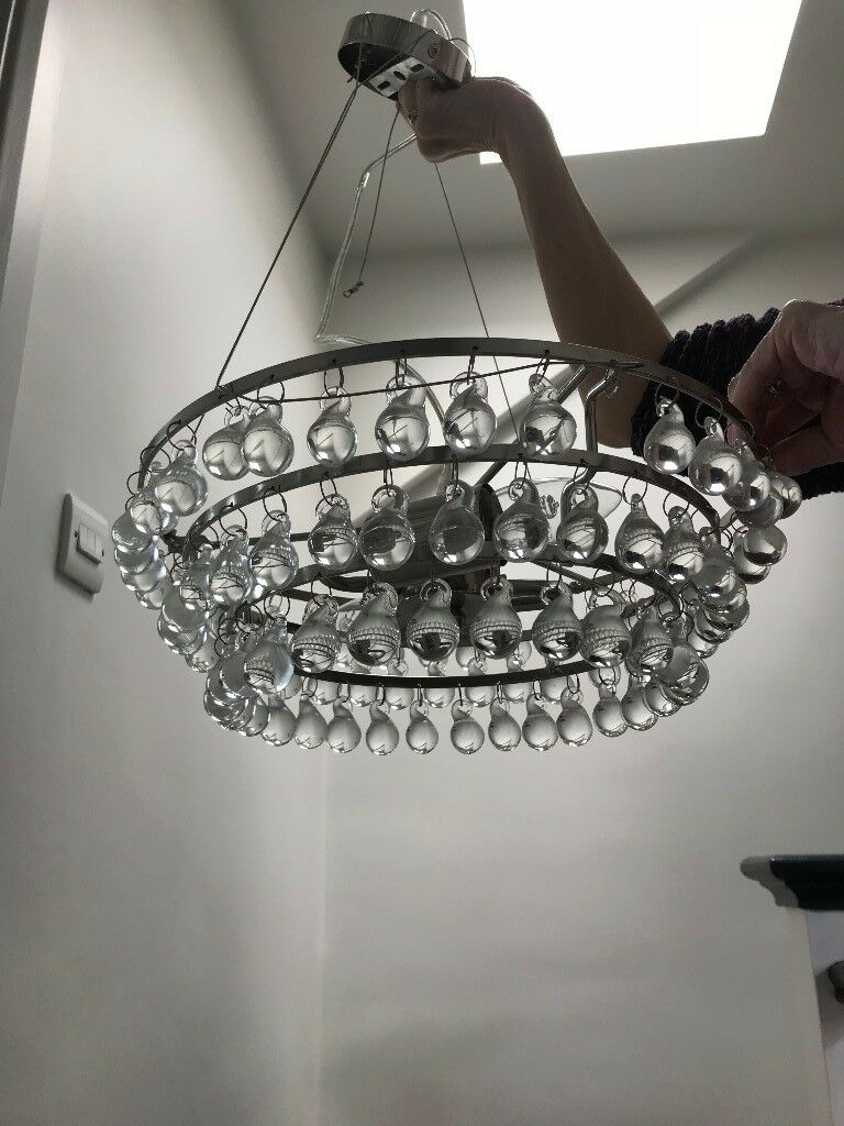 Gl Chandelier From The White Company