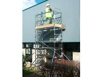 Access tower platform scaffolding by euro towers ladders