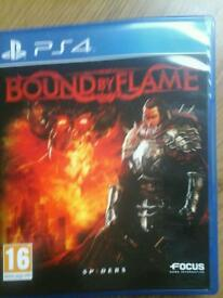 Bound by flames ps4 game.