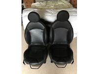 Heated Mini Punch Leather Seats - R56 Mini One, Cooper, Cooper S, JCW