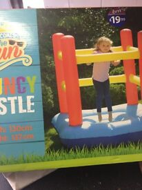Kids boxed bouncy castle