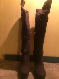 Fendi Knee high Boots