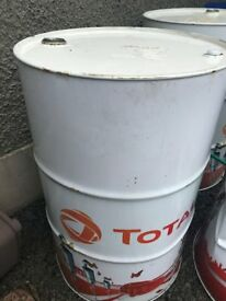 105 Litre metal Oil Drum. In very good condition.