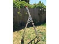 3 way Stair ladders - step ladder, straight ladder or stair ladder