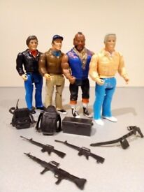 The A Team figures by Cannell (Galoob).