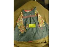 0-3 Month Dress And vest