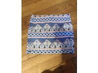 Blue skirt size 10