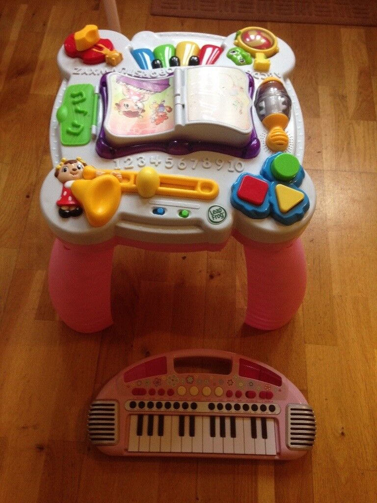 ELC piano Leap Frog musical table baby | in Plymouth, Devon | Gumtree
