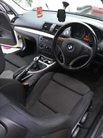 White BMW 1 Series 1.6 116i for sale