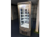 Stunning Upright Chiller/Freezer Display Cabinet with LED Lights