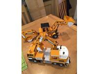 Toy Dickie Construction vehicles