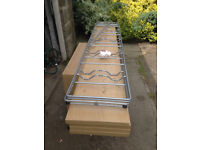 BARGAIN !!!!! BARGAIN !!!! REDUCED !!!! REDUCED !!!!! QUALITY WOODEN & METAL SHELVING UNIT