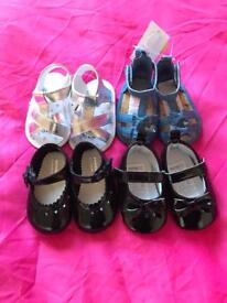 Bundle of shoes 3-6 months