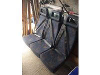 Isri Rear van seat. 3 seater with belts