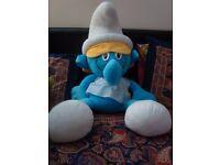 Gigantic Smurfette Soft Toy