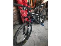 """Black Specialized Hardrock Bike (26"""" wheels)"""