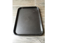Kristallon DP216 Foodservice Tray Black Serving Fast Food Tray 13.5 x 10.5 in