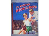 THE BUMPER BOOK FOR BOYS