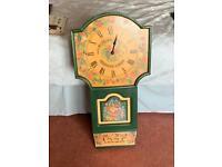Farmhouse kitchen wall clock