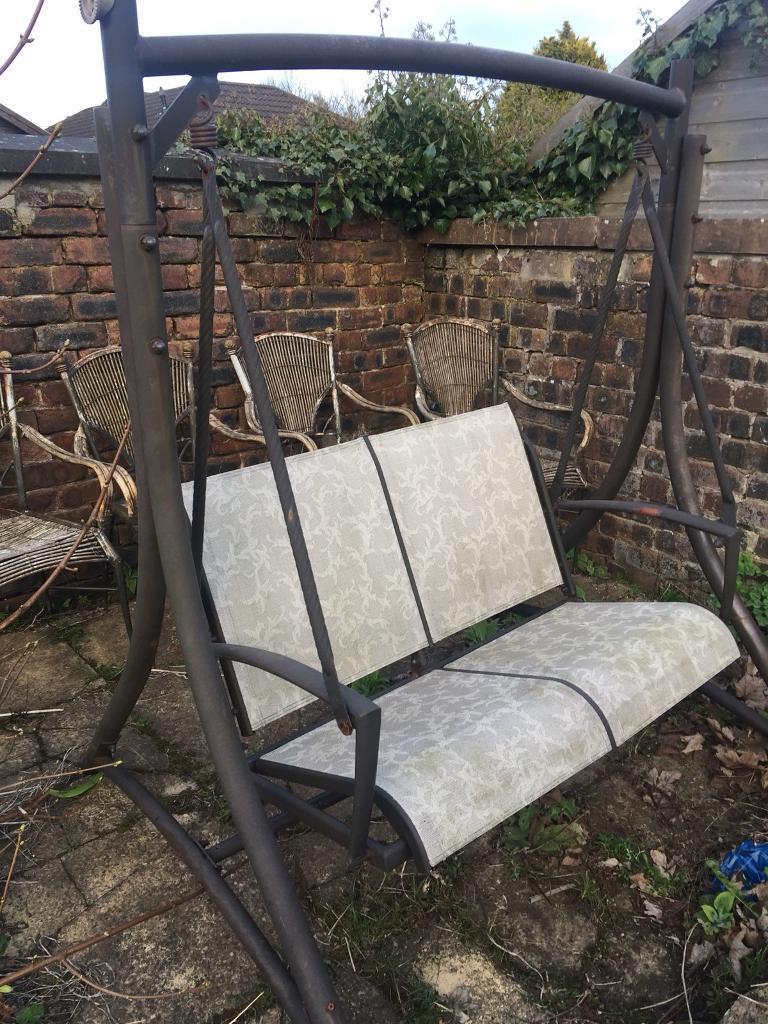 Garden swing seat. SOLD