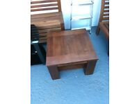 Wooden side table/ coffee table