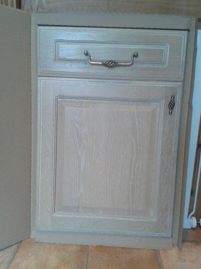 Limed Oak Kitchen Cabinet Doors In Ripon North Yorkshire Gumtree
