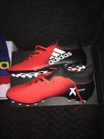 Adidas X Football Boots Size 10