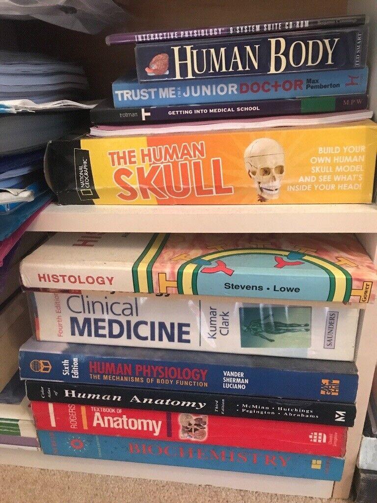 Medical textbooks OSCE exam preparation revision GP anatomy oxford handbook  medicine surgery books | in Harborne, West Midlands | Gumtree