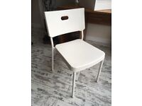 White Ikea Office Style Chair