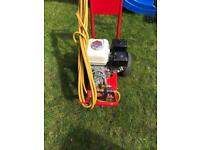 Honda gx160 petrol pressure washer. As new