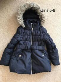 Girls coat 5/6
