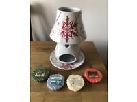 New Yankee Candle Ceramic Snowflake Collection