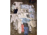 Bundle of baby boys Clothing and bottle warmer
