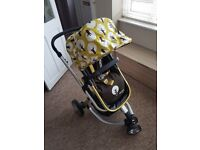 Good condition cosatto giggle treet travel system
