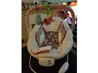 Comfort and harmony baby chair