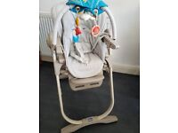 Chicco Polly Magic High Chair - Baby Feeding Highchair -For 0 - 3 Yrs