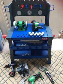 Little Tykes workbench