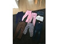 Great bundle of next, gap, H&M etc trousers and short hardly worn bundle grab a bargain