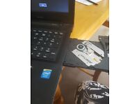 lenovo slimline laptop black.windows 8.