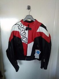 Brand new with tags Harro streetwear leather biker jacket