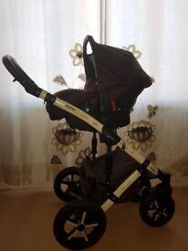 Baby pram 3in1