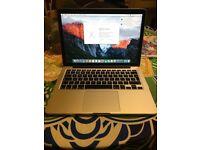 Apple Macbook Pro 13 Retina 2015 2.7Ghz Core i5, 8GB Ram, Intel Iris 6100, Force Touch, 256GB SSD