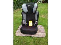 Nania Car Seat. Black. Type F9 15 - 36Kg. Used but in excellent condition.