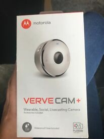 Live stream camera by Motorola BRAND NEW