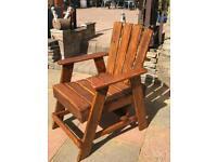 Home made garden chair