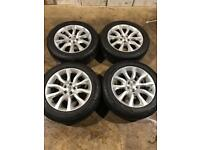 """Set of 20"""" genuine Land Rover alloy wheels and tyres Range Rover Sport Vogue discovery 3 4 5"""